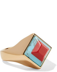 Золотое кольцо от Fendi