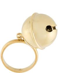 Золотое кольцо от MM6 MAISON MARGIELA