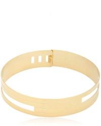 Золотое ожерелье-чокер