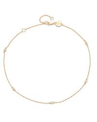 Золотое ожерелье-чокер от Jennifer Zeuner Jewelry