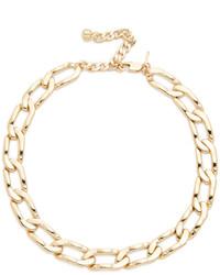 Золотое ожерелье-чокер от Vanessa Mooney