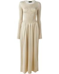 Золотое платье-макси