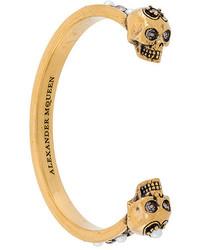 Золотой браслет от Alexander McQueen