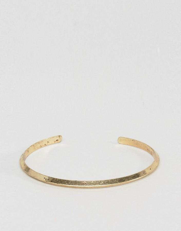 Мужской золотой браслет от Asos