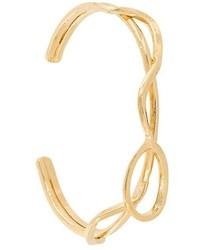 Золотой браслет от Aurelie Bidermann