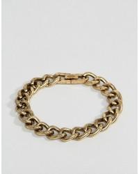 Мужской золотой браслет от Icon Brand