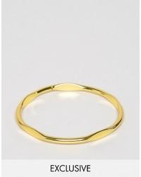 Мужской золотой браслет от Reclaimed Vintage