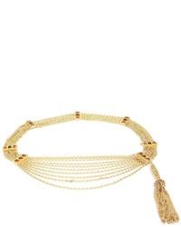 Женский золотой ремень от Chanel