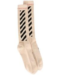 Женские золотые носки от Off-White
