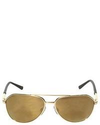 Золотые солнцезащитные очки