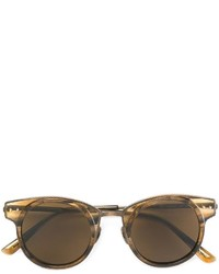 Женские золотые солнцезащитные очки от Bottega Veneta