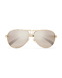 Женские золотые солнцезащитные очки от Givenchy
