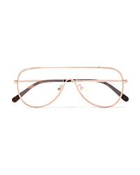Женские золотые солнцезащитные очки от Stella McCartney