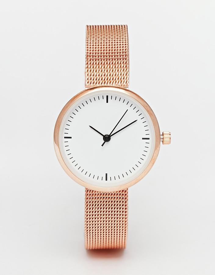 Женские золотые часы от Asos   Где купить и с чем носить 2f6fc7b89ef
