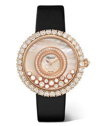 Женские золотые часы от Chopard