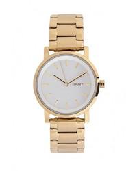 Женские золотые часы от DKNY