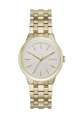Женские золотые часы от DKNY   Где купить и с чем носить c6c35c68780