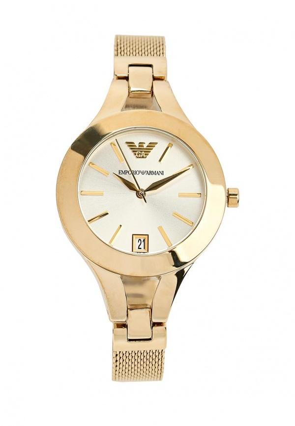 Женские золотые часы от Emporio Armani   Где купить и с чем носить fc9a357ac91