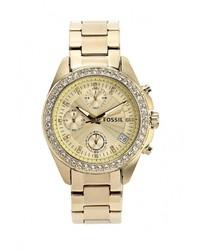 Женские золотые часы от Fossil