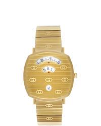 Мужские золотые часы от Gucci