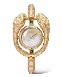 Женские золотые часы от Gucci