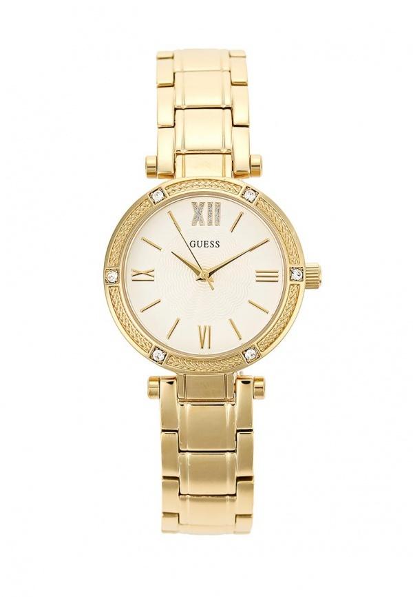 Женские золотые часы от GUESS