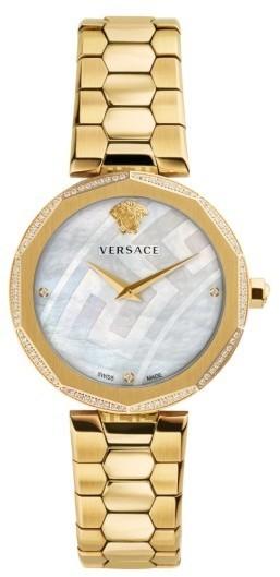 Женские золотые часы от Versace   Где купить и с чем носить a1940ac7a38
