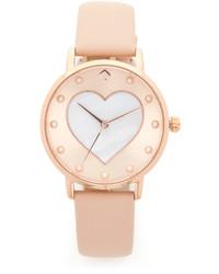 Женские золотые часы от Kate Spade