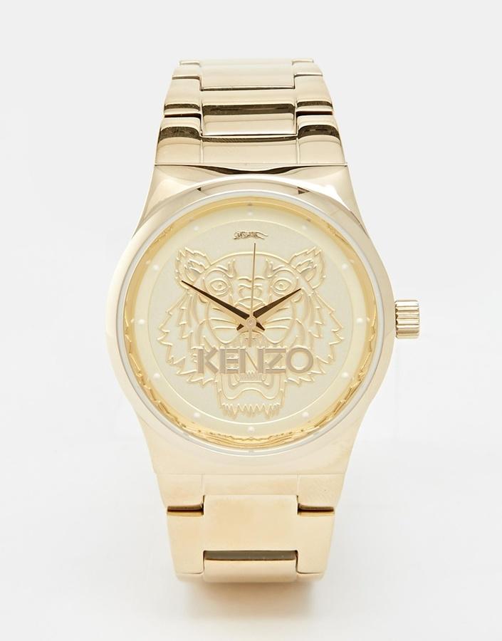 Женские золотые часы от Kenzo   Где купить и с чем носить 5aaaabb2561