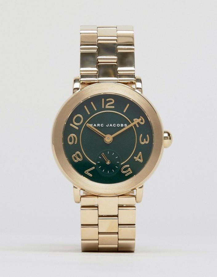 Женские золотые часы от Marc Jacobs   Где купить и с чем носить 22098bd020b