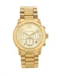 Мужские золотые часы от Michael Kors