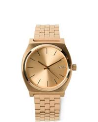 Мужские золотые часы от Nixon