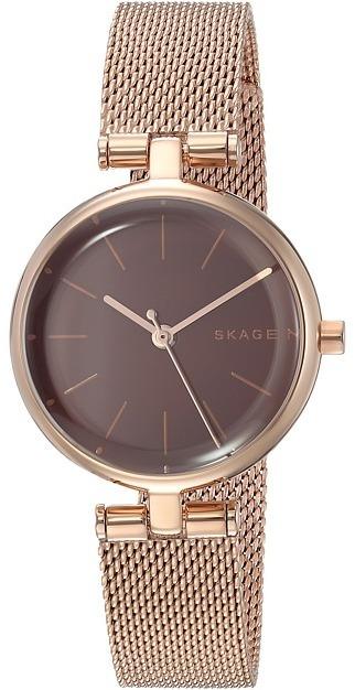 Женские золотые часы от Skagen   Где купить и с чем носить ec319b5b0af