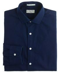 Классическая рубашка из шамбре