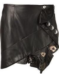 кожаная мини юбка original 1464009