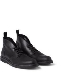 Кожаные ботинки дезерты