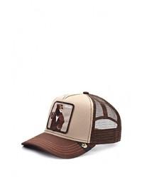 Мужская коричневая бейсболка от Goorin Brothers