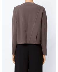 11f0c9f5218 ... Коричневая блузка с длинным рукавом от Alcaçuz
