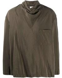 Мужская коричневая водолазка от Lemaire