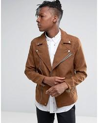 d1cefef9207 Купить мужскую коричневую замшевую куртку - модные модели курток ...