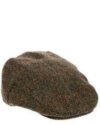 Мужская коричневая кепка от Asos