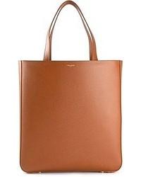 Мужская коричневая кожаная большая сумка от Saint Laurent