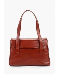 Коричневая кожаная сумка-саквояж от Kofr