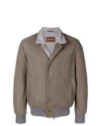 Мужская коричневая куртка-рубашка от Doriani Cashmere