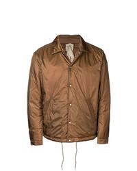 Мужская коричневая куртка-рубашка от Ten C