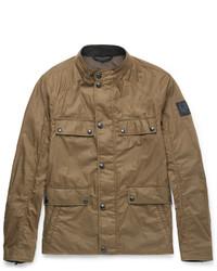 Коричневая полевая куртка