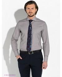 Мужская коричневая рубашка с длинным рукавом от Alfred Muller