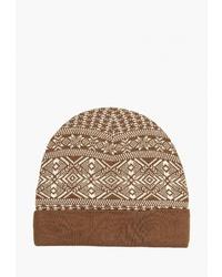 Мужская коричневая шапка от Airobika