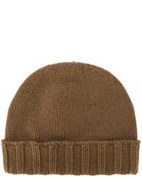 Мужская коричневая шапка от Drumohr