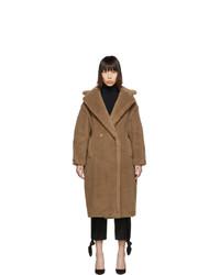 Женское коричневое пальто от Max Mara